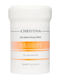 Sea Herbal Beauty Mask Carrot for over-dried skin