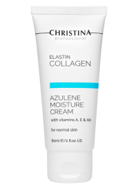 ElastinCollagen Azulene Moisture Cream with Vitamins A, E & HA for normal skin 60 мл