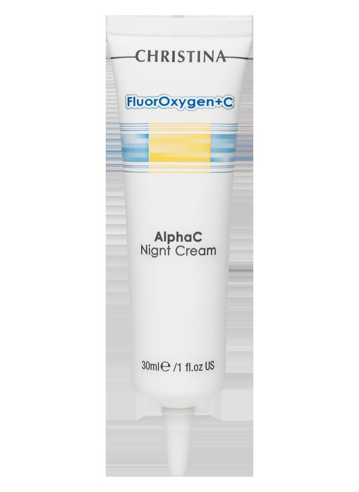 FluorOxygen+C AlphaC Night Cream фото
