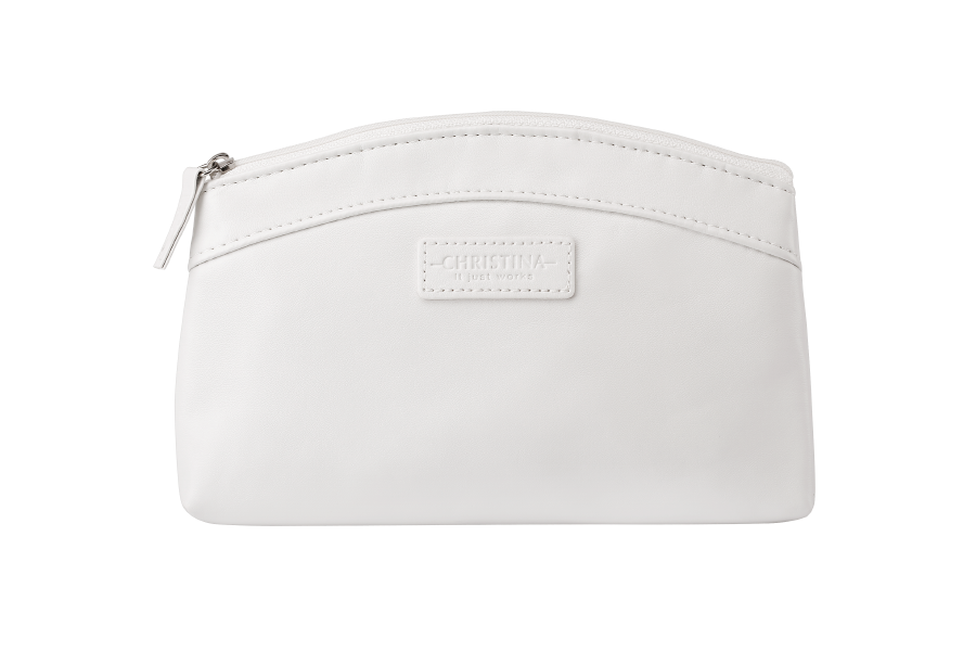 White Collection Cosmetic Bag фото