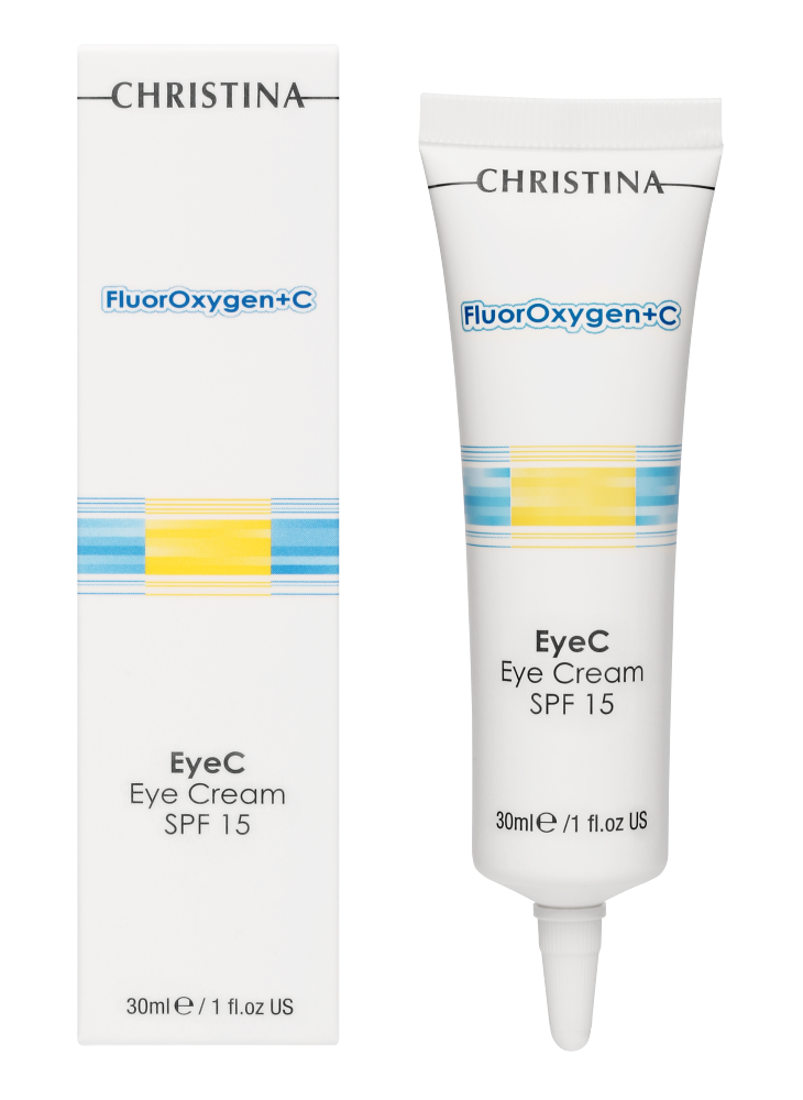 FluorOxygen+C EyeC Eye Cream SPF 15