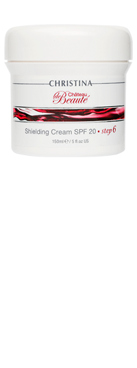 Chateau de Beaute Shielding Cream SPF 20 step6