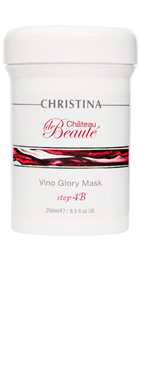 Сhateau de Beaute Vino Glory Mask step4b