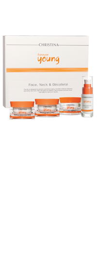 Forever Young Face, Neck & Decollete kit