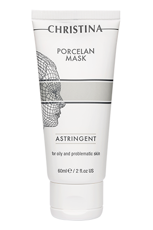 Porcelain Mask Astringent – Поросуживающая фарфоровая маска, 60 мл